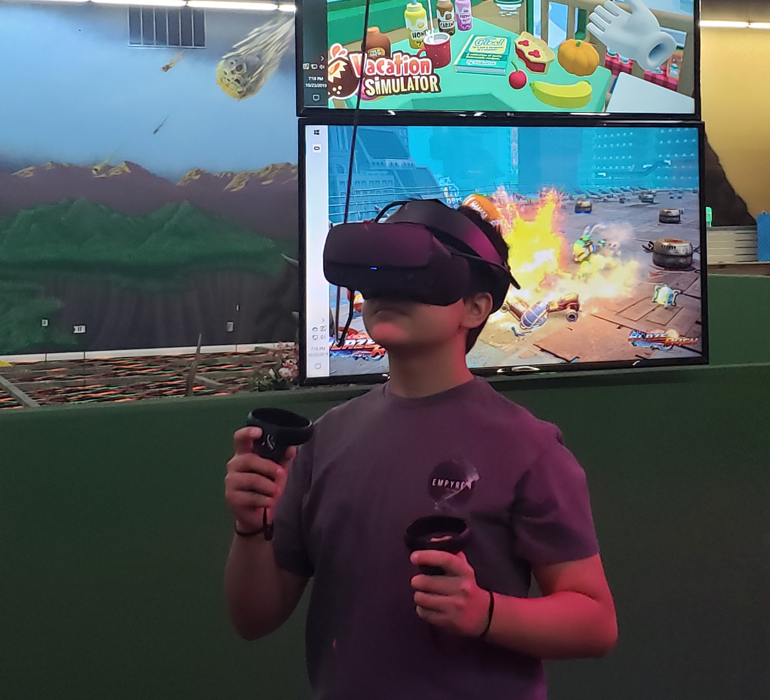 VR Action Party, Monday - Thursday